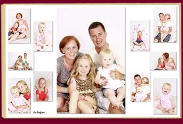 Pictorium Photoshop Monkstown Dublin Stunning Personalised Photo Collages Designed and Printed for you.