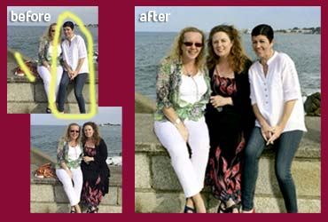 The Pictorium Photo Restoration Editing Digital Manipulation & Touch up of photos, Remove Add People & Objects, Change backgrounds, Torn Damaged Faded Creased Water Damaged Photos Professionally restored and Printed onto Paper, Canvas, & Framed in one of our many Photo Frames
